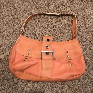 Maxx New York leather bag peach